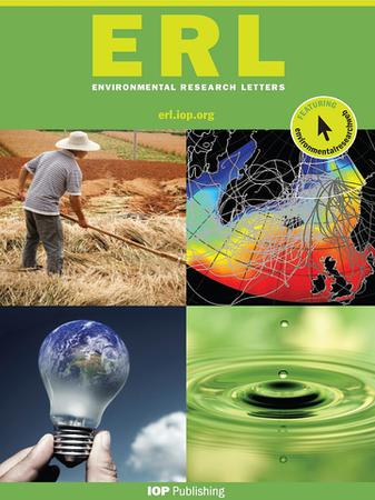 Environmental Research Letters template (IOP Publishing)