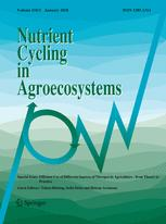 Nutrient Cycling in Agroecosystems template (Springer)