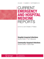 Current Emergency and Hospital Medicine Reports template (Springer)