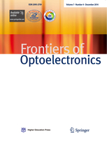 Frontiers of Optoelectronics template (Springer)
