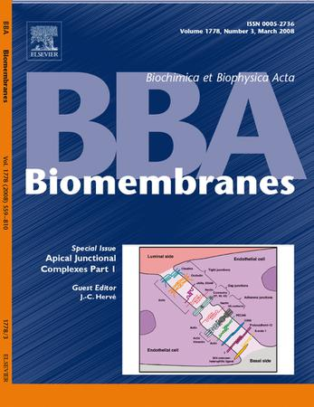 Biochimica et Biophysica Acta (BBA) - Biomembranes template (Elsevier)