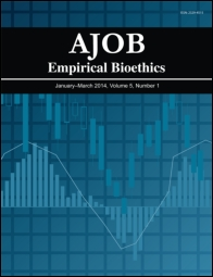 AJOB Empirical Bioethics template (Taylor and Francis)