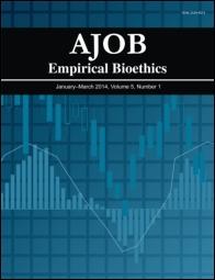 AJOB Empirical Bioethics template (Taylor and Francis)