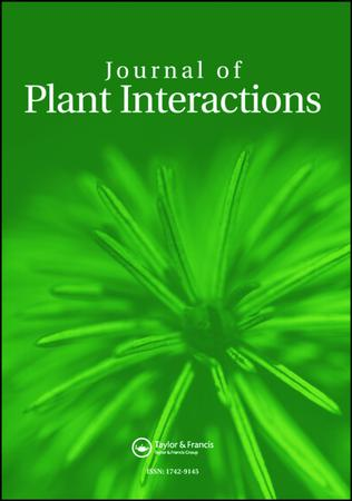 Journal of Plant Interactions template (Taylor and Francis)