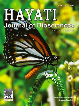 HAYATI Journal of Biosciences template (Elsevier)