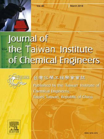Journal of the Taiwan Institute of Chemical Engineers template (Elsevier)