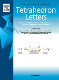 Tetrahedron Letters template (Elsevier)