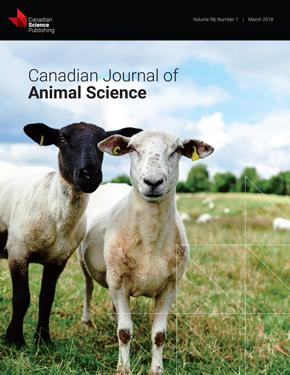 Canadian Journal of Animal Science template (NRC Research Press)