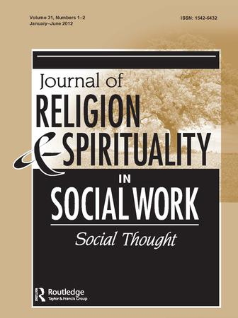 Journal of Religion and Spirituality in Social Work: Social Thought template (Taylor and Francis)