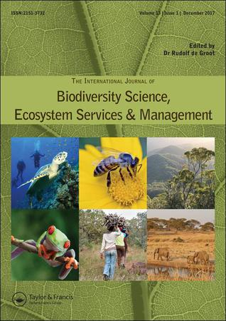 International Journal of Biodiversity Science, Ecosystem Services and Management template ( Ecosystem Services and Management)