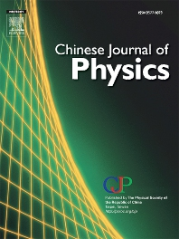 Chinese Journal of Physics template (Elsevier)