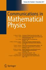 Communications in Mathematical Physics template (Springer)