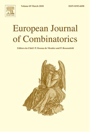 European Journal of Combinatorics template (Elsevier)