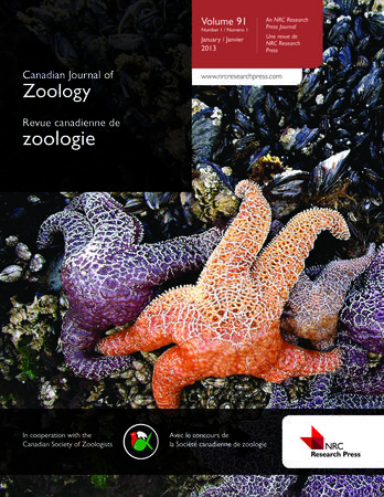 Canadian Journal of Zoology template (NRC Research Press)