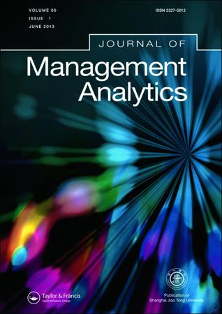 Journal of Management Analytics template (Taylor and Francis)
