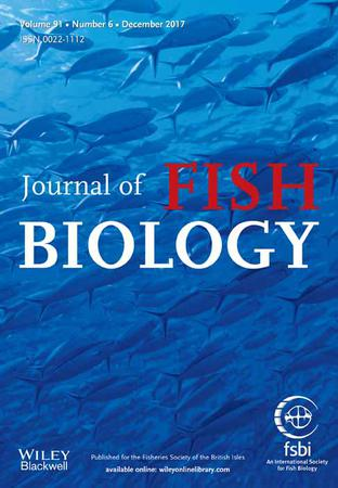 Journal of Fish Biology template (Wiley)