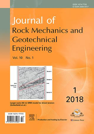 Journal of Rock Mechanics and Geotechnical Engineering template (Elsevier)