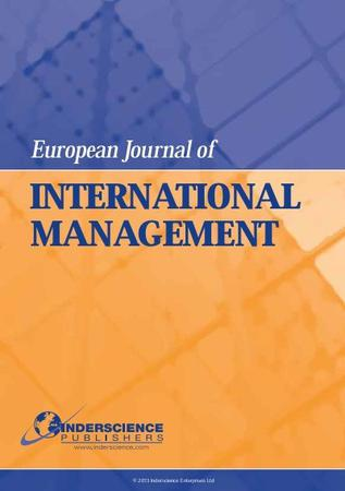 European Journal of International Management template (Inderscience Publishers)