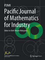 Pacific Journal of Mathematics for Industry template (Springer)