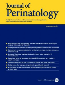 Journal of Perinatology template (Nature)