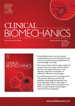 Clinical Biomechanics template (Elsevier)