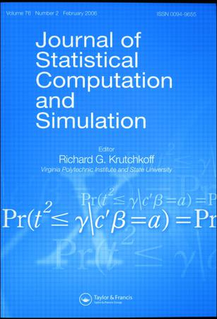 Journal of Statistical Computation and Simulation template (Taylor and Francis)