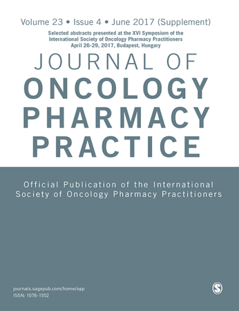 Journal of Oncology Pharmacy Practice template (SAGE)