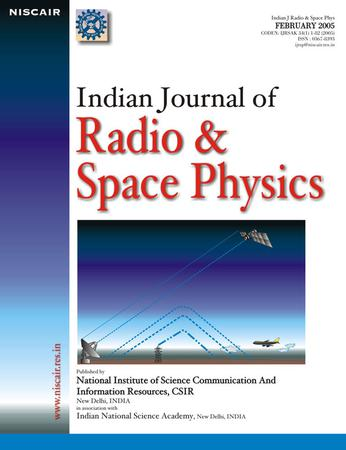 Indian Journal of Radio & Space Physics (IJRSP) template (NISCAIR Publications)