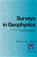 Surveys in Geophysics template (Springer)