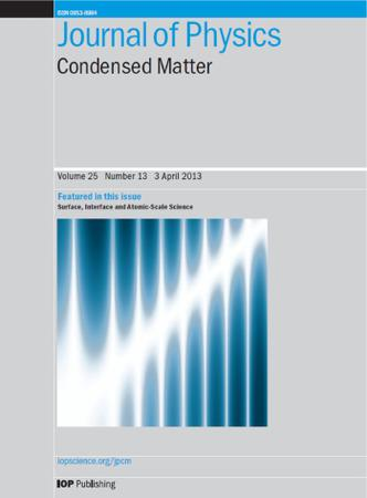 Journal of Physics: Condensed Matter template (IOP Publishing)