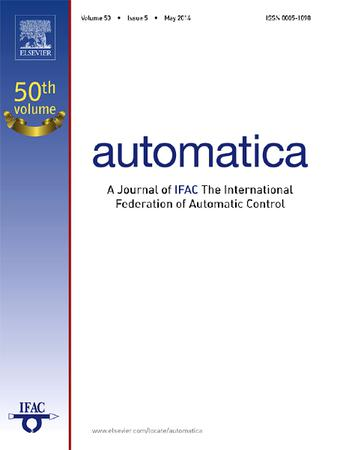 Automatica template (Elsevier)
