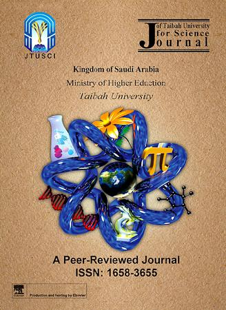 Journal of Taibah University for Science template (Elsevier)