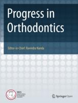 Progress in Orthodontics template (Springer)