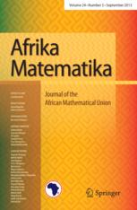 Afrika Matematika template (Springer)