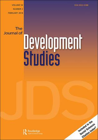 The Journal of Development Studies template (Taylor and Francis)