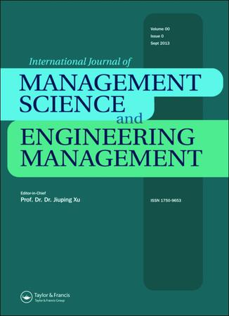 International Journal of Management Science and Engineering Management template (Taylor and Francis)