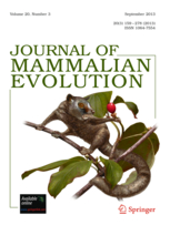 Journal of Mammalian Evolution template (Springer)