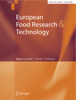 European Food Research and Technology template (Springer)