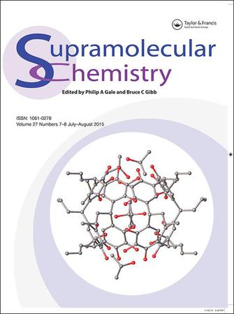 Supramolecular Chemistry template (Taylor and Francis)
