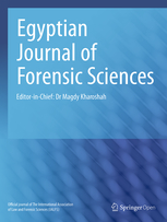 Egyptian Journal of Forensic Sciences template (Springer)