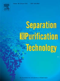 Separation and Purification Technology template (Elsevier)