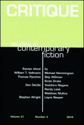 Critique: Studies in Contemporary Fiction template (Taylor and Francis)