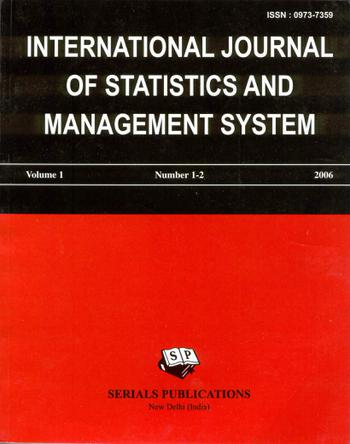 International Journal of Statistics and Management System template (Serials Publications)