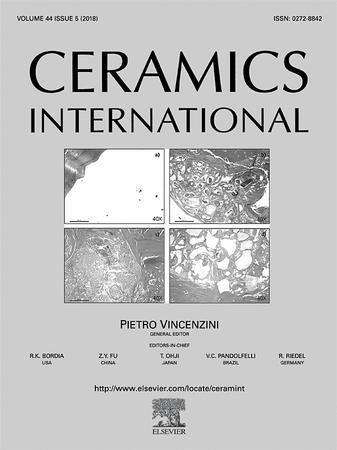 Ceramics International template (Elsevier)