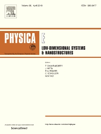 Physica E: Low-dimensional Systems and Nanostructures template (Elsevier)