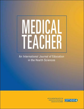 Medical Teacher template (Taylor and Francis)