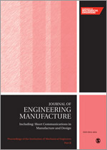 Proceedings of the Institution of Mechanical Engineers, Part B: Journal of Engineering Manufacture template ( Part B: Journal of Engineering Manufacture)
