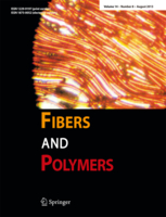 Fibers and Polymers template (Springer)