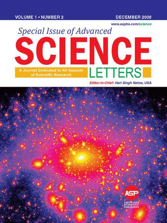 Advanced Science Letters template (American Scientific Publishers)