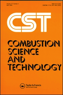 Combustion Science and Technology template (Taylor and Francis)